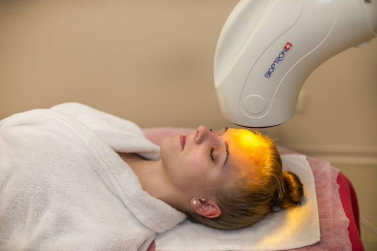 Bioptron, šviesos terapija, sveik oda