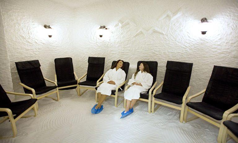 haloterapija, sāls istaba