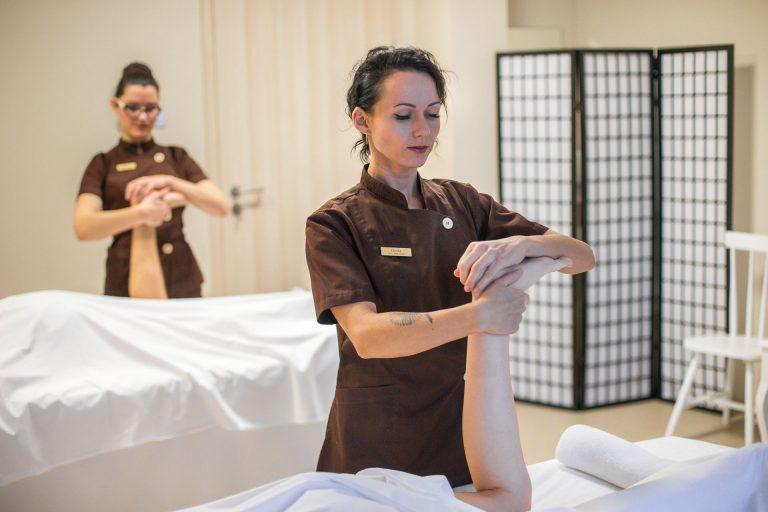 kojų, pėdų, medicininis masažas